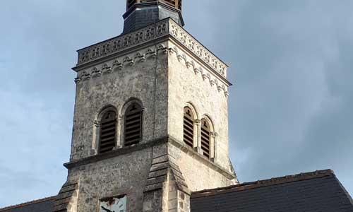 Clocher de l'église de Montlouis sur Loire